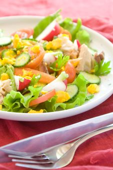 Free Vegetables Salad Stock Photos - 14446743