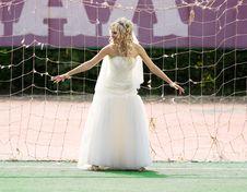 Free Bride Goalkeeper Stock Photos - 14448633