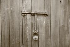 Free Old Wooden Gate Stock Photography - 14449392