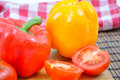 Free Fresh Vegetable Peppers, Tomatoes Royalty Free Stock Photo - 14455145