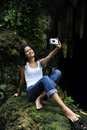 Free Woman Taking A Photo Royalty Free Stock Image - 14455976