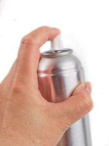 Free Hand Holding A Spraycan Royalty Free Stock Photos - 14450128