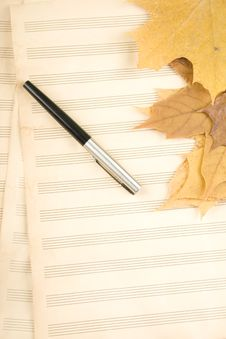 September The School Of Music Stock Photography