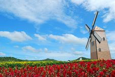 Free Nice Windmill Stock Photos - 14450323