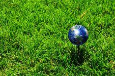 Free Earth - Like A Golf Ball Royalty Free Stock Photos - 14450588
