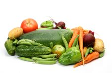 Free Fresh Vegetables Stock Photo - 14450600