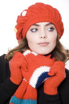 Free Winter Woman Stock Photos - 14450663