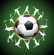 Free Football Background Stock Photo - 14450680