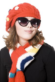 Free Winter Woman Royalty Free Stock Photography - 14450867