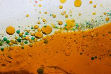 Free Amber Bubbles Stock Image - 14451011