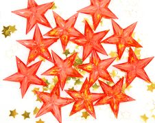 Free Decorative Stars Royalty Free Stock Photo - 14451045