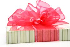 Free Box With A Bow Royalty Free Stock Images - 14451239