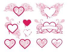 Free Heart Selection Stock Photo - 14451810