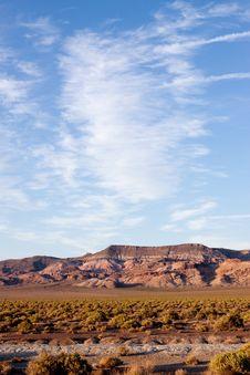 Free Nevada Desert Royalty Free Stock Photos - 14452048