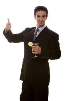 Free Businessman Celebrating Stock Image - 14452151
