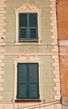 Free Coloured Walls Of An Italian Town Stock Photos - 14452483