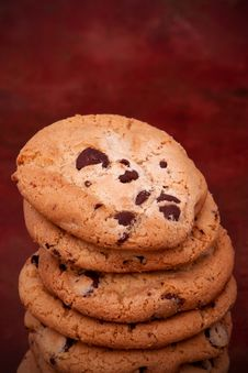 Free Chocolate Chip Cookies Stock Image - 14452621