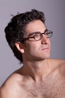 Free Handsome Man In Eyeglasses Royalty Free Stock Photography - 14452657