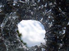 Free Glass  Broken  Automobile Stock Photos - 14452723