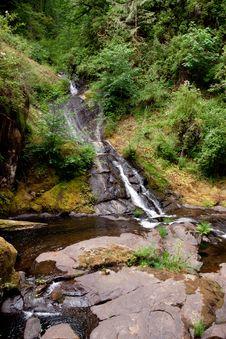Sweet Creek Falls Royalty Free Stock Images