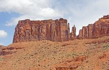Free Arches Nat L Park 1 Royalty Free Stock Photography - 14452827