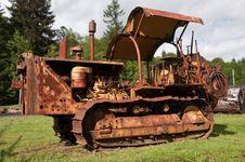 Free Bulldozer Royalty Free Stock Image - 14452866