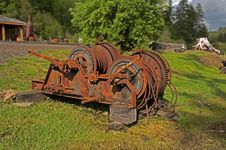 Free Rusting Winch Stock Images - 14452884