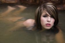 Free Womans Body In Water Stock Photo - 14453070