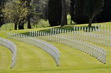 Free Florence American Cemetry Royalty Free Stock Photography - 14453547