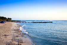 Free Pier At Grand Turk Islands, Caribbean Stock Image - 14453921