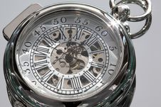 Free Antique Pocket Watch. Stock Image - 14454861