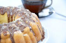 Free Marble Cake - Tea Time Royalty Free Stock Photo - 14455045