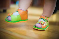 The First Steps Stock Images