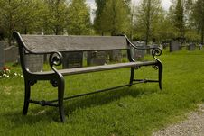 Free The Park Wooden Bench Stock Photography - 14456552