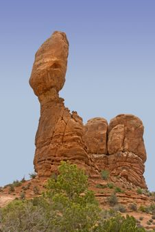 Free Balanced Rock, Utah Stock Image - 14456681