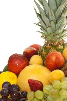 Free Various Types Of Fresh Fruit Stock Photography - 14456852