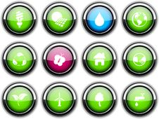 Free Ecology Icons. Stock Image - 14457201