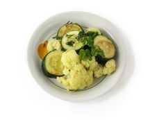 Free Stewed Vegetables In A Bowl Royalty Free Stock Photo - 14457255