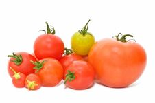Free Fresh Tomato Royalty Free Stock Photography - 14457367