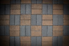 Floor Blocks Stock Image