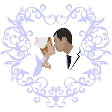 Free Wedding Couple 07 Royalty Free Stock Photo - 14457805
