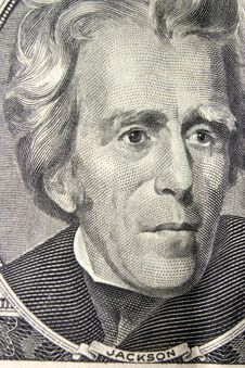 Free President Andrew Jackson Portrait Stock Photo - 14457890