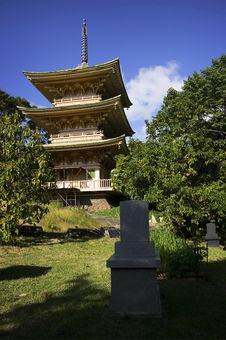 Japanese Garden & Cemetery, Oahu, Hawaiian Islands Stock Photography