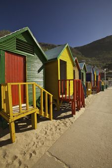 Free Wooden Huts, Cape Town Stock Photo - 14458110