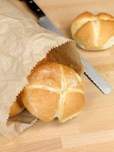 Free Fresh Bread Rolls Royalty Free Stock Photos - 14458248