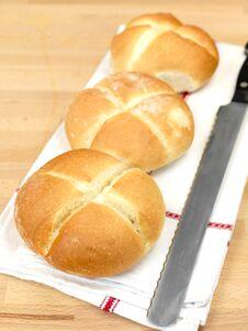 Free Fresh Bread Rolls Royalty Free Stock Photo - 14458255