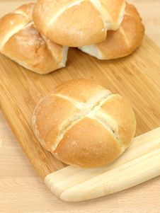 Free Fresh Bread Rolls Stock Photography - 14458262