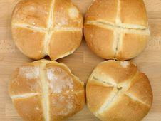 Free Fresh Bread Rolls Royalty Free Stock Photography - 14458287