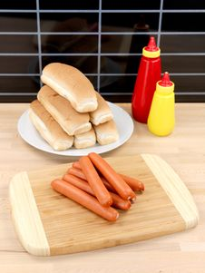 Free Hotdogs Stock Image - 14458481