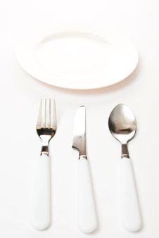 Free Empty Kitchen Plate Stock Image - 14458681